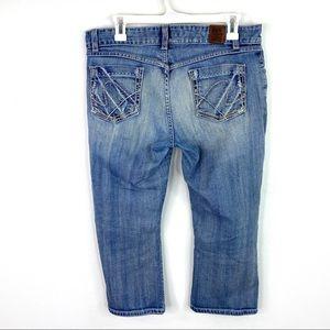 BKE Buckle Denim Culture Stretch Cropped Jeans 31
